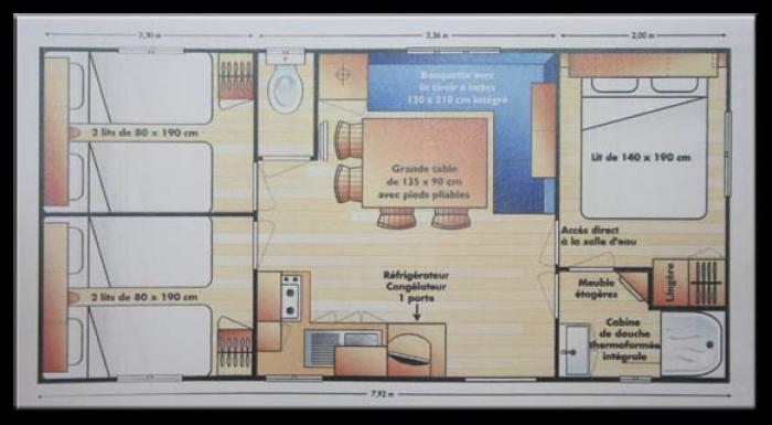 Mobil homes 3 chambres