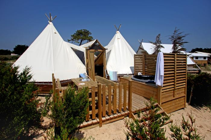 ORIGINAL DOUBLE TIPI - 4 personnes