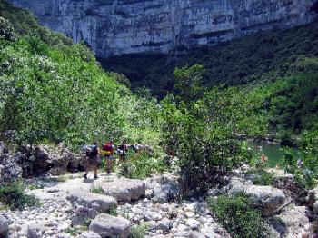 from-pont-d-arc-campsite-to-the-bivouac-of-gournier